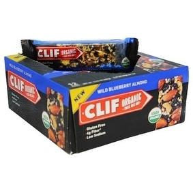 Clif Organic Blueberry Almond (Box of 12)