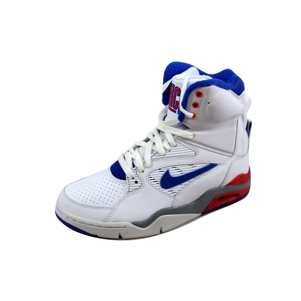 Nike Men's Air Command Force White/Lyon Blue-Bright Crimson-Wolf Grey 684715-101
