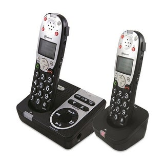 Amplicom PT720-2 Amplified DECT Cordless Phone with Answering Machine