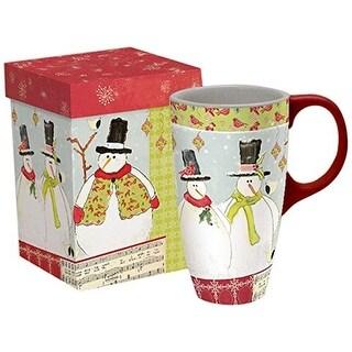 Home For The Holidays Latte Mug, Coffee & Tea by Lang Companies