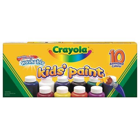 Washable Kids Paint 10 Colors