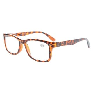 Eyekepper Readers Spring-Hinges Classic Vintage Style Reading Glasses Tortoise +1.25
