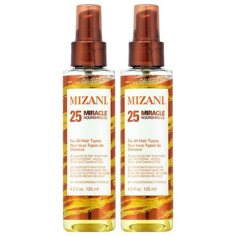 Mizani 25 Miracle Nourishing Oil 4.2 oz (Pack of 2)