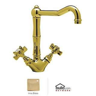 Rohl A1469X-2 Country Kitchen Kitchen Faucet with Five Spoke Handles