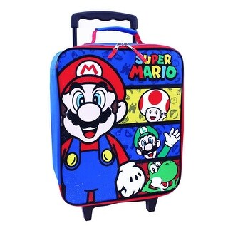 Nintendo Mario Pilot Case Rolling Luggage