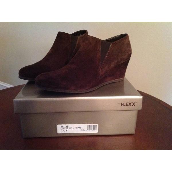 Shop The Flexx Womens Jet Set Suede