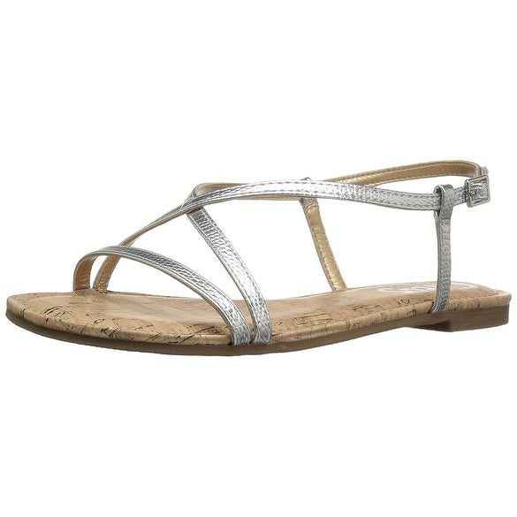 Circus by Sam Edelman Womens E9386S1 Open Toe Beach Ankle Strap Sandals