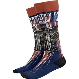 Buck Wear 3013SX Stick to My Gun Socks OSFM