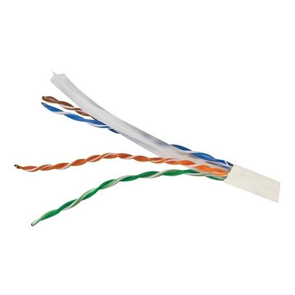 Vericom mbw6u-01444 cat-6 utp solid riser cmr cable, 1,000ft (white). Opens flyout.