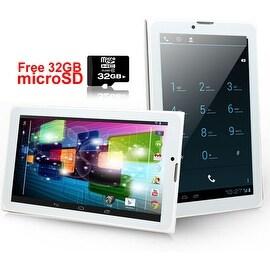 Indigi® 3G Unlocked 2-in-1 SmartPhone + TabletPC Android 4.4 KitKat + WiFi + DualSIM Slots w/ 32gb microSD included