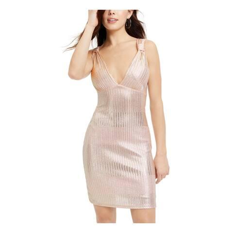 JUMP Light Pink Sleeveless Short Dress S - Light Pink