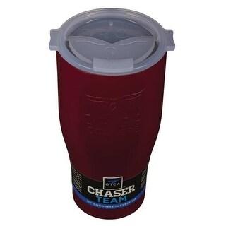 Orca ORCCHA27CR/WH Drinkware Vacuum Mugs,Crimson/White, 27 OZ