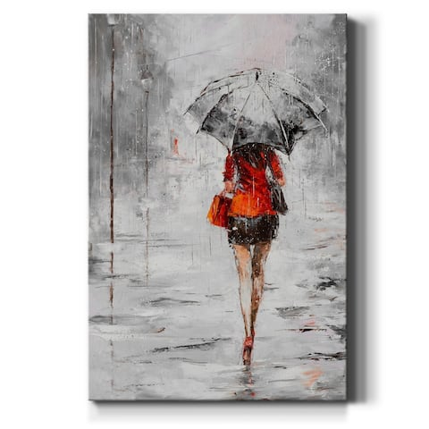 City Shopping IV-Premium Gallery Wrapped Canvas - Ready to Hang