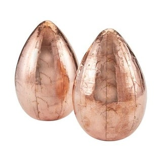 Dimond Home 178-026/S2 Copper Metallic Eggs - Set of 2