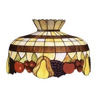 "Meyda Tiffany 26624 Single Light 20"" Wide Pendant with Handmade Shade - tiffany glass"