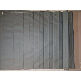 Lewis Hyman Fabric Thermal Roman Shade in Slate Grey
