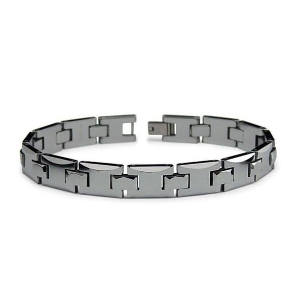 Tungsten Carbide Bracelet - 9 inches