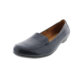 Naturalizer Womens Saban Leather Solid Loafers