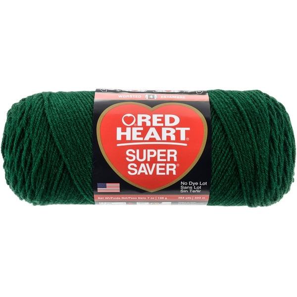 Red Heart Super Saver Yarn-Hunter Green