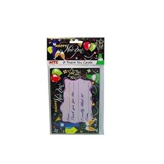 Bulk Buys KS112-96 Newyear 8 Thank U Cards - Pack of 96