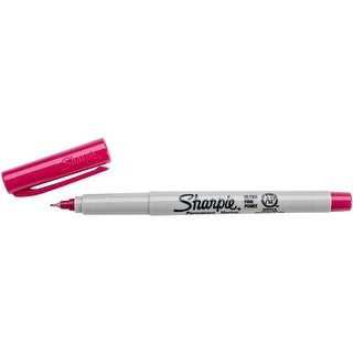Sharpie Ultra Fine Point Permanent Marker Open Stock-Berry