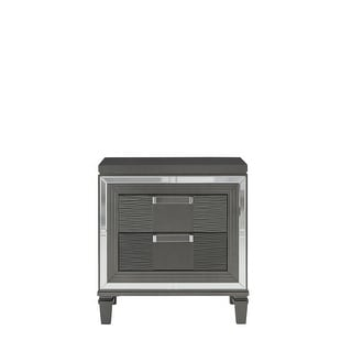 Link to Global Furniture Palermo Metallic Grey Nightstand Similar Items in Bedroom Furniture