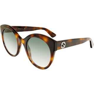 Gucci Gradient GG0028S-002-52 Brown Cat Eye Sunglasses