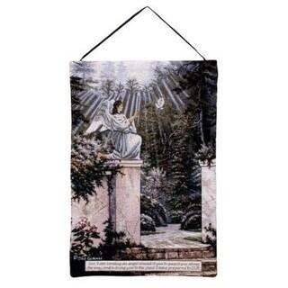 "Garden Angel Bible Exodus Wall Hanging Tapestry 17"" x 26"""