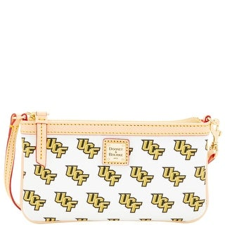 Dooney & Bourke NCAA Central Florida Large Slim Wristlet (Introduced by Dooney & Bourke at $88 in Mar 2016) - White