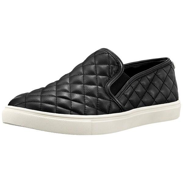 Steve Madden Womens Ecentrcq Low Top Slip On Fashion Sneakers