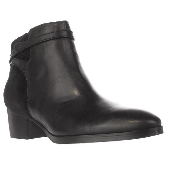 Lauren Ralph Lauren Damara Ankle Boots, Black/Black