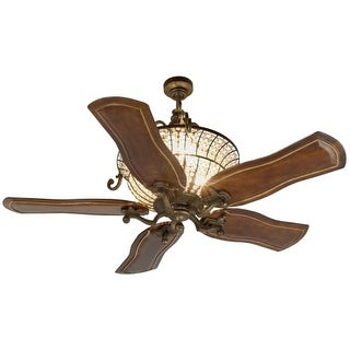 """Craftmade K11142 Cortana 54"""" 5 Blade Indoor Ceiling Fan with Blades Included"""