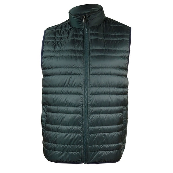 797fc0aff Michael Kors Men's Quilted Down Puffer Vest - Pine