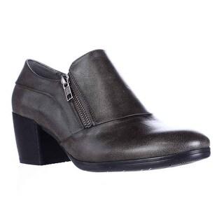 BareTraps Kelyn Side Zip Ankle Booties - Dark Grey