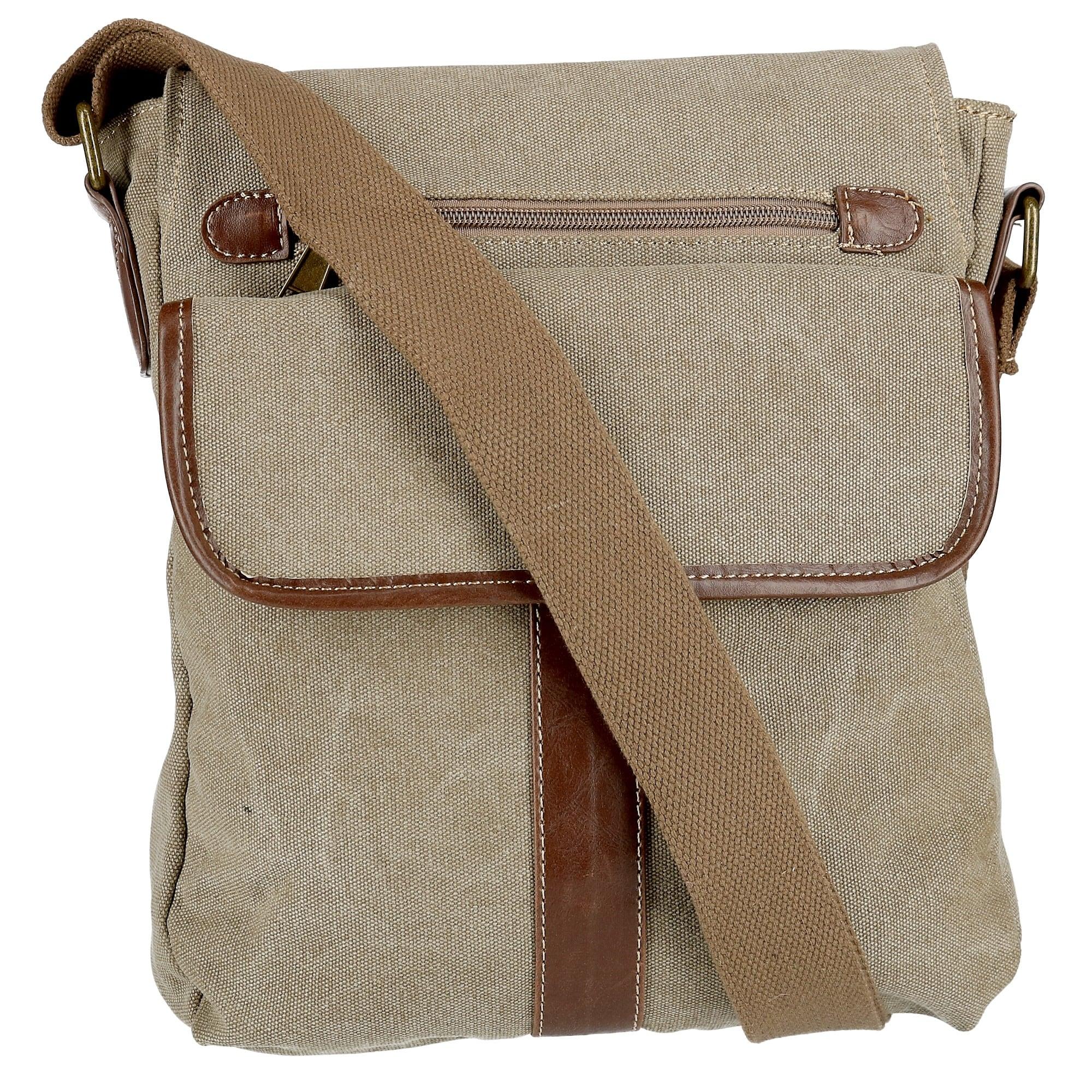 Cargoit Women S Cotton Canvas Crossbody Bag One Size