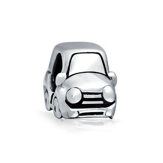Bling Jewelry Car Charm Bead .925 Sterling Silver