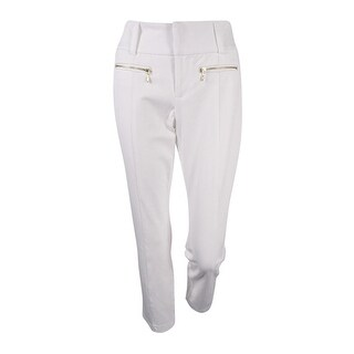 INC International Concepts Women's Zip-Pocket Cropped Pants (4 options available)