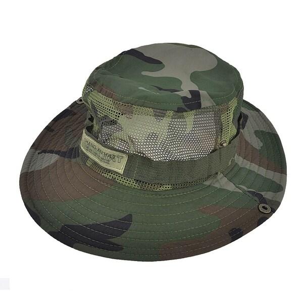 38d222f9b8e Unique Bargains Men Women Adjustable Nylon Hiking Fishing Cap Sun Hat Mesh  Style