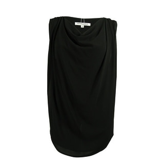 Modamix Women's Sleeveless Cowl Neck Top - 3x