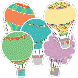 Hot Air Balloon Cutout Asst Gr Pk-5