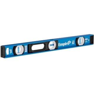 """Empire EM55.24 True Blue Magnetic I-Beam Level, 24"""""""