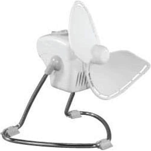 Caframo 707CH-WBX Two Speed Electric Fan, White