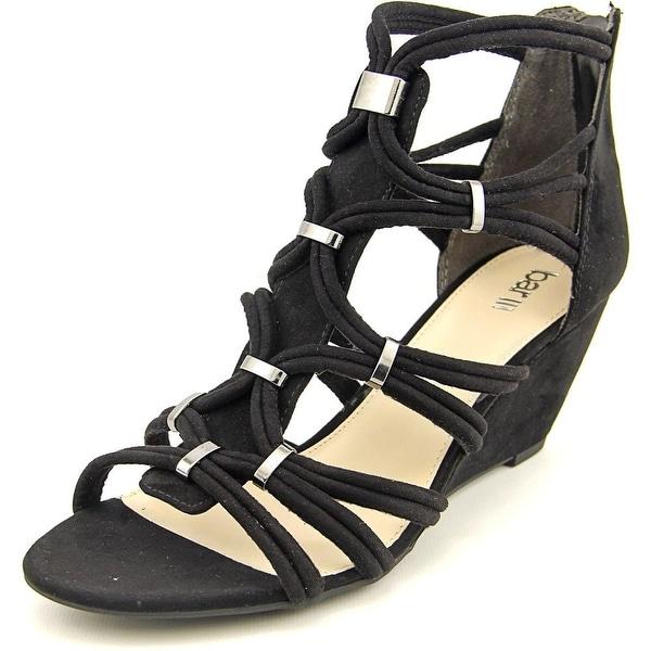 Bar III Kaylan Women Black Sandals