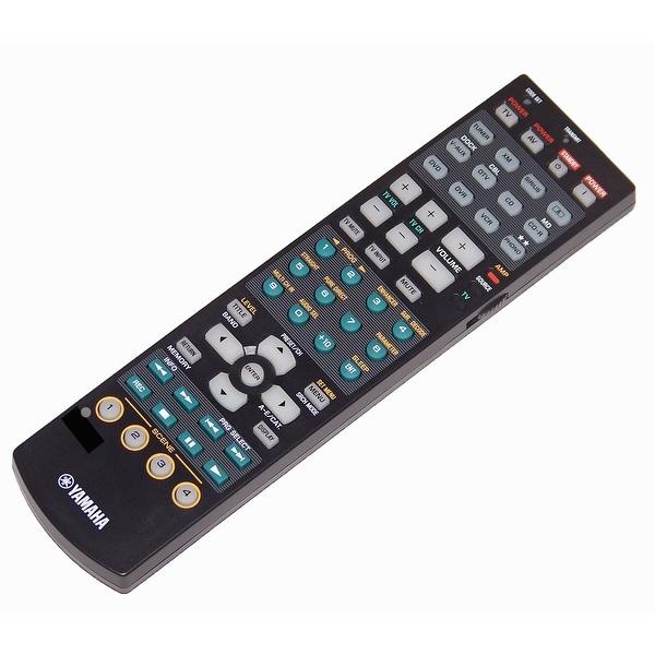 OEM Yamaha Remote Control Originally Shipped With: HTR-6180, HTR6180, RX-V863, RXV863, RX-V863BL, RXV863BL