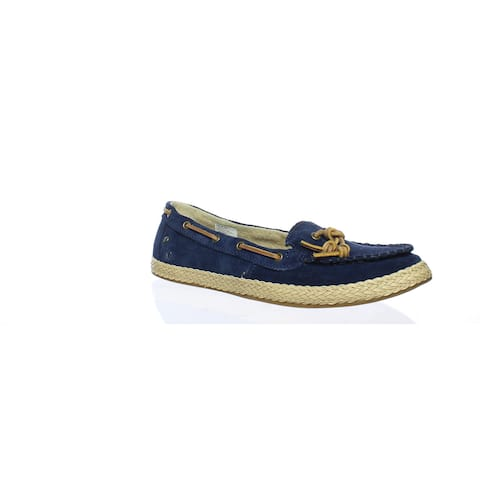 UGG Womens Channtal Navy Loafers Size 8.5