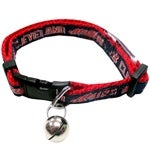 MLB Cleveland Indians Cat Collar