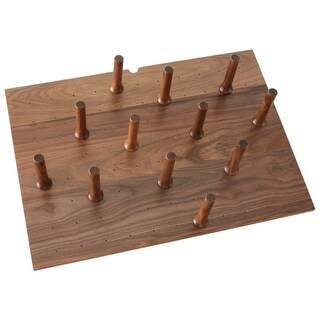 Rev-A-Shelf 4DPS-WN-3021 4DPS Series Medium Trimmable Drawer Peg Board with 12 P