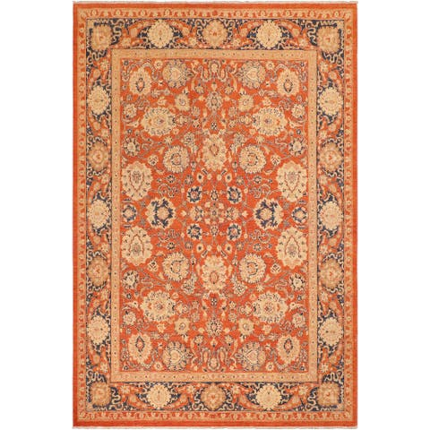 """Bohemien Ziegler Raylene Hand Knotted Area Rug -8'5"""" x 9'10"""" - 8 ft. 5 in. X 9 ft. 10 in."""