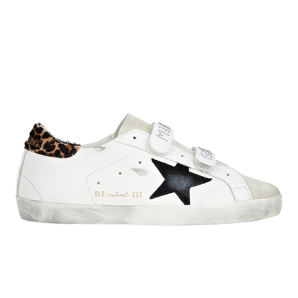 Golden Goose Womens Old School Sneakers White. Opens flyout.
