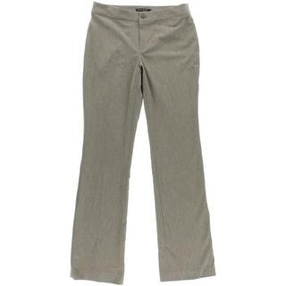 Lauren Ralph Lauren Womens Stertch Boot Cut Dress Pants - 4
